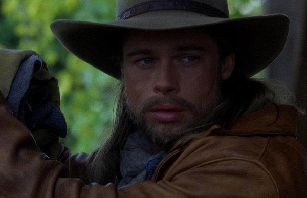Brad Pitt nel film Vento di passioni
