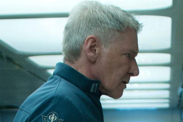 Harrison Ford nel film Ender's Game