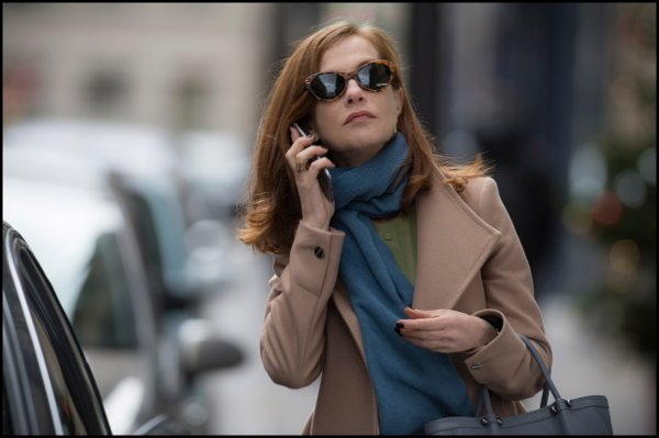 Isabelle Huppert nel film Elle