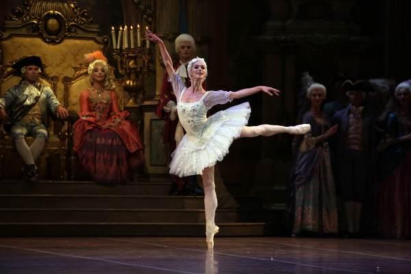 """Polina Semionova nel balletto """"La Bella addormentata nel bosco"""" - Foto Marco Brescia e Rudy Amisano © Teatro alla Scala"""