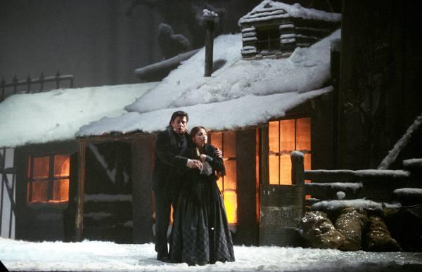 La bohème di Puccini - Foto Andrea Tamoni © Teatro alla Scala