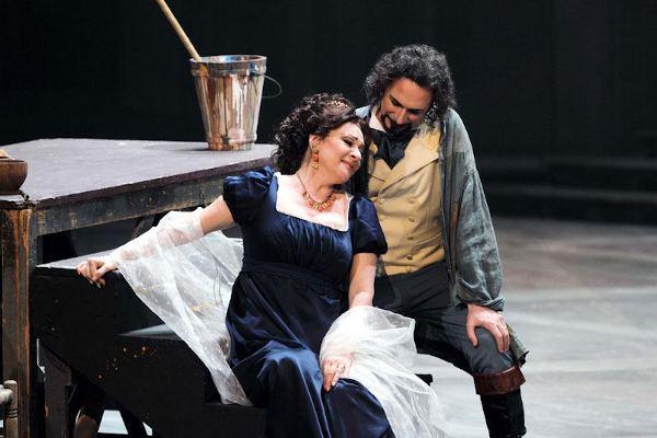 Daniela Dessì e Fabio Armiliato in Tosca, Teatro Carlo Felice