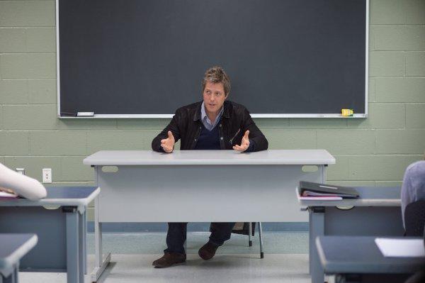 Hugh Grant nel film Professore per amore