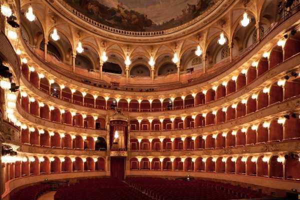 La sala del Teatro Costanzi. Foto: Silvia Lelli - Teatro dell'Opera di Roma