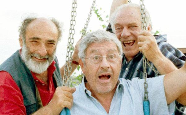 Alessandro Haber, Antonio Catania e Giorgio Colangeli nel film Mirafiori Lunapark