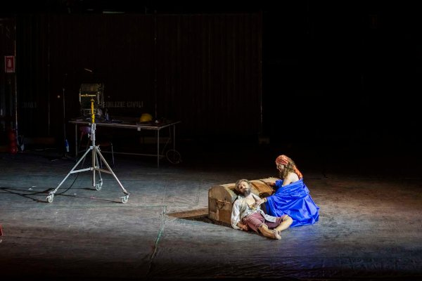Chen Reiss (Zaide), Juan Francisco Gatell (Gomatz) - Foto: Yasuko Kageyama - Teatro dell'Opera di Roma 2020