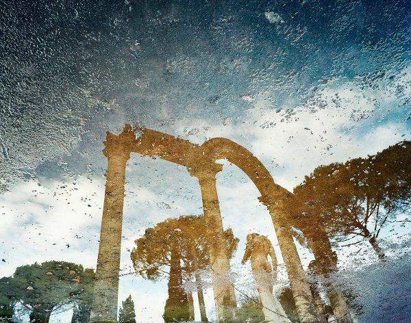 Alfred Seiland, Il Canopo di Villa Adriana, Tivoli, Italia, 2009