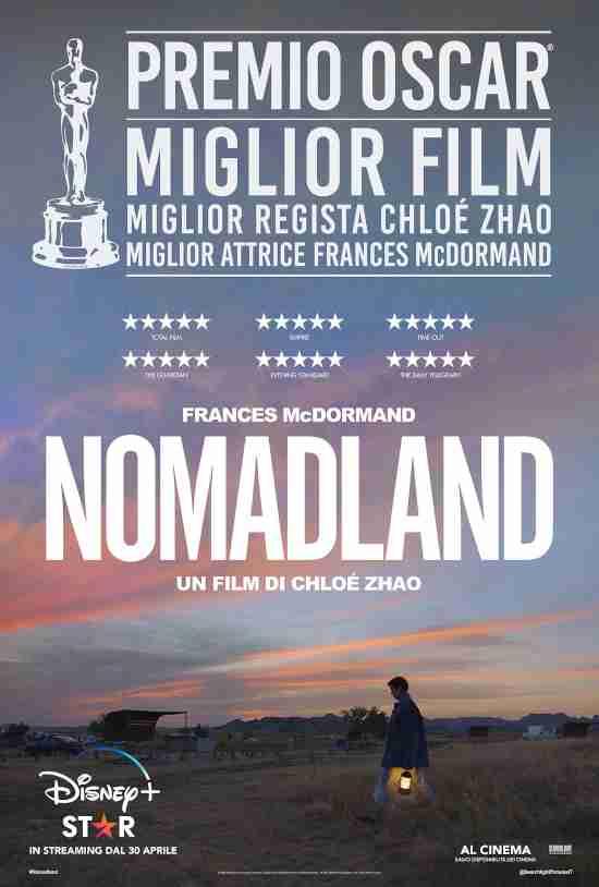 Locandina del film Nomadland